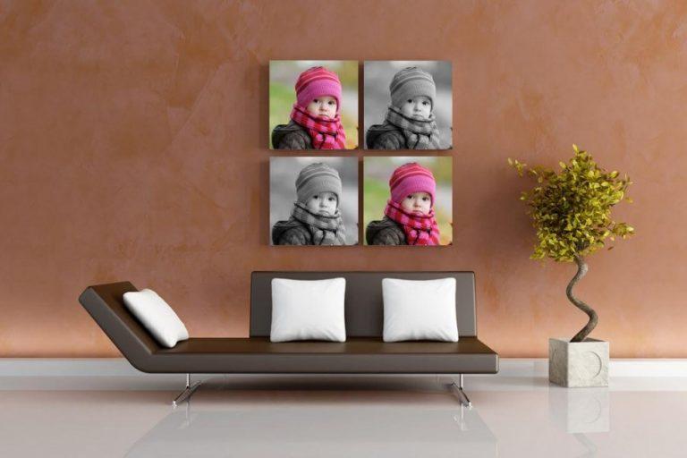 הדפסת פורטרט על קנבס, תמונות קנבס קטנות, ביחידם או סדרות | חיוכים - הדפסה על קנבס