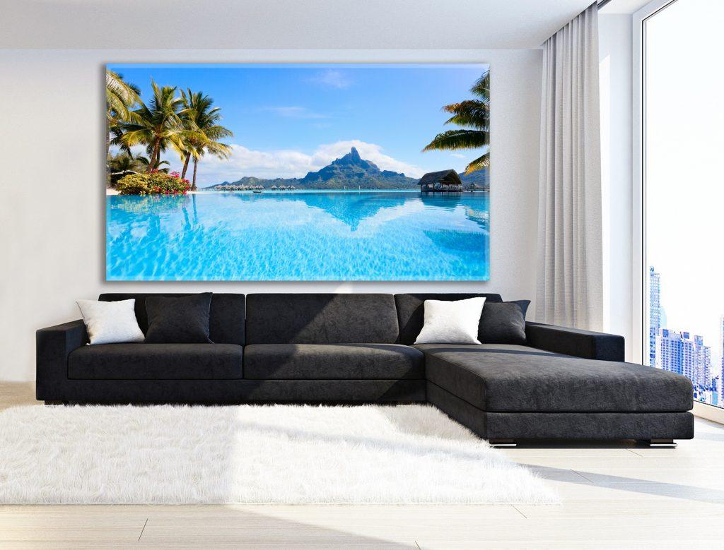 תמונות לסלון - הדפסת תמונות קיר יפות, תמונות נוף להדפסה על קנבס או זכוכית | חיוכים