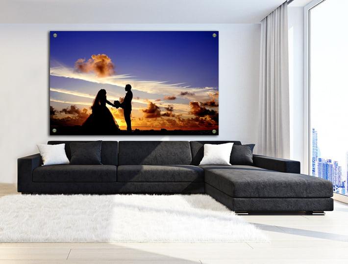 הדפסות זכוכית פנורמיות לעיצוב הסלון   חיוכים - הדפסות