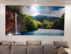 הדפסה על זכוכית - תמונות טבע ונוף לסלון | חיוכים